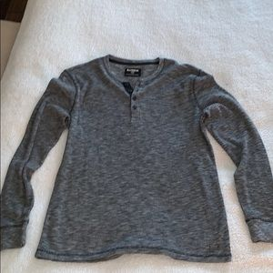 Men's Express Long Sleeve Waffle Shirt - Large